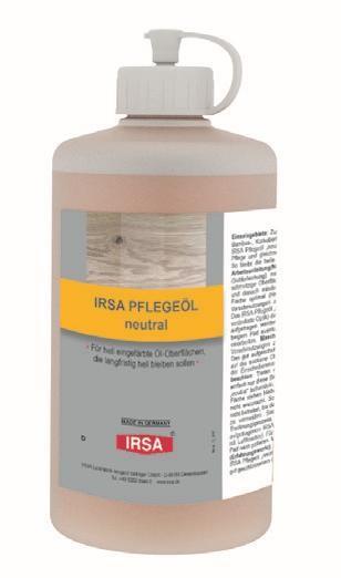 IRSA Pflegeöl neutral mit Sprüher
